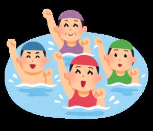 水中健康づくり教室受講生募集中!!
